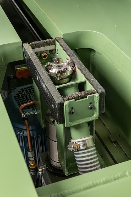 Milling Machine Bottom Mill Head